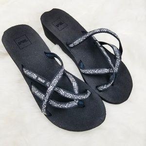 Teva|Wedge Flip Flop Sandals